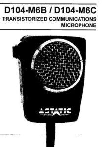 Astatic D104 Minuteman Electret Upgrade | simonthewizard radio