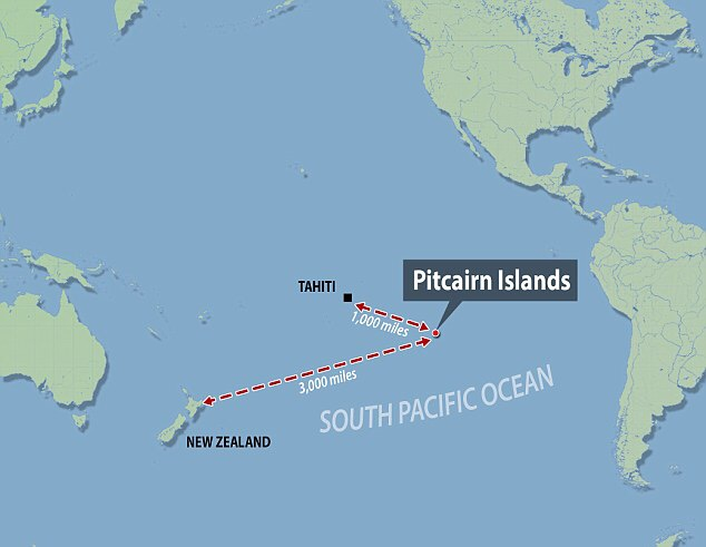 Distance From Easter Island To New Zealand