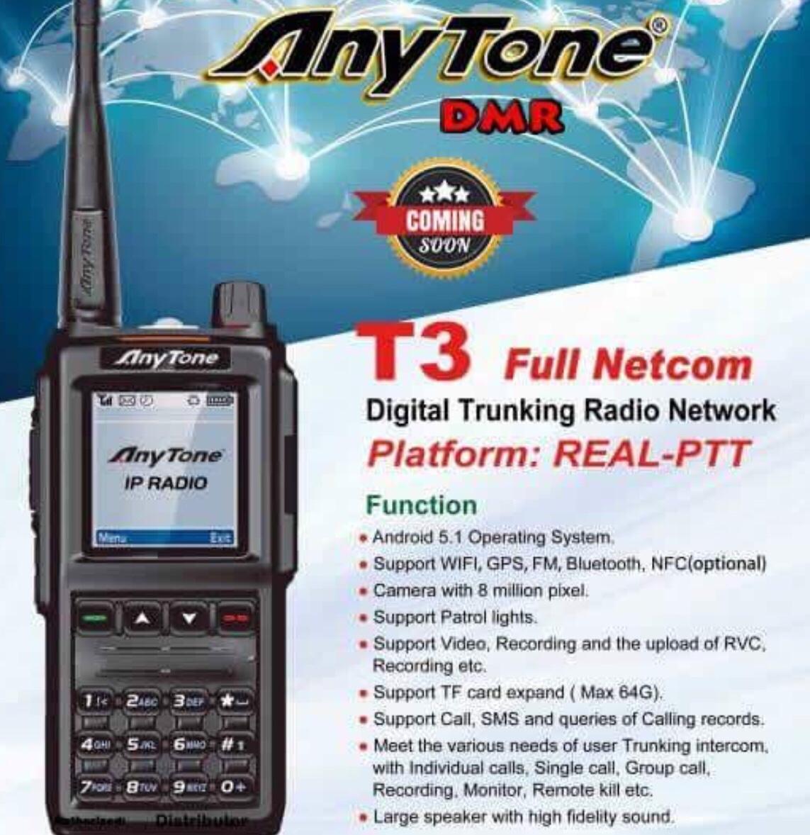 NEW* Anytone T3 Network Radio / Zello / 4G | Simonthewizard