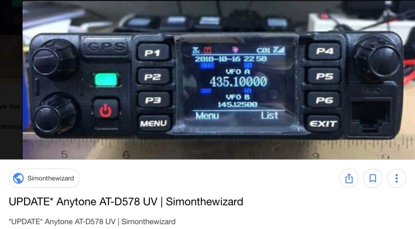 FB Radio Sweden* Launches D-578UV | Simonthewizard
